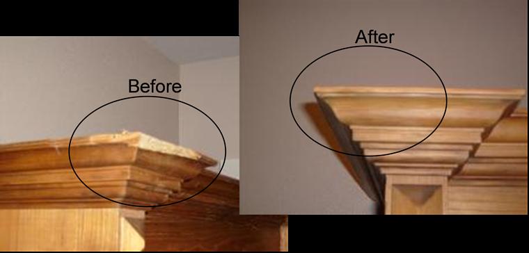 Wood Repair and Restoration - Precision Repair Works - Services